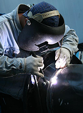 Man Welding - Welding Supplies